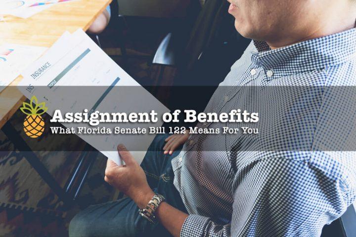 Assignment of Benefits - Florida Senate Bill 122